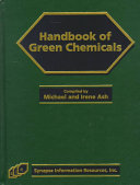 Handbook of Green Chemicals