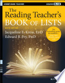 """The Reading Teacher's Book of Lists"" by Jacqueline E. Kress, Edward B. Fry"