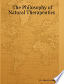 Philosophy of Natural Therapeutics  Henry Lindlahr