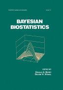 Bayesian Biostatistics