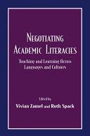 Pdf Negotiating Academic Literacies Telecharger