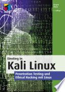 Einstieg in Kali Linux