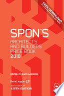 Spon s Architects  and Builders  Price Book