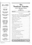 The Nautical Gazette Book PDF