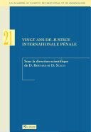 Pdf Vingt ans de justice internationale pénale Telecharger