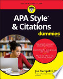 APA Style   Citations For Dummies