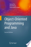 Object Oriented Programming And Java Book PDF