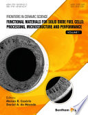 Functional Materials For Solid Oxide Fuel Cells Processing Microstructure And Performance Book PDF