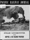 Steam Locomotives of the Denver   Rio Grande Western