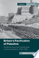 Britain s Pacification of Palestine