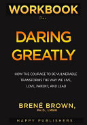 WORKBOOK For Daring Greatly