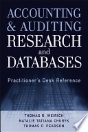 Accounting and Auditing Research and Databases