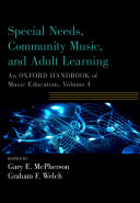 Special Needs  Community Music  and Adult Learning