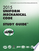 2015 Uniform Mechanical Code Study Guide