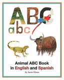 Animal ABC Book in English and Spanish