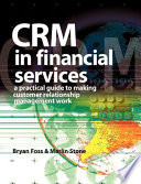 CRM in Financial Services Book