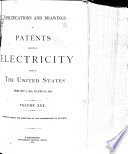 Specifications and Drawings of Patents Relating to Electricity