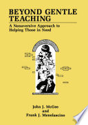 Beyond Gentle Teaching Book PDF