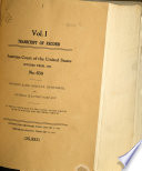 Records and Briefs of the United States Supreme Court Book