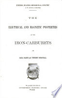 The Electrical And Magnetic Properties Of The Iron Carburets Book PDF