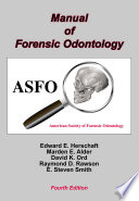 Manual of Forensic Odontology Book