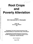 Root Crops and Poverty Alleviation Book