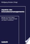 Aspekte des Innovationsmanagements