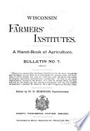 A Hand-book of Agriculture