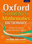 Oxford Student s Mathematics Dictionary
