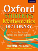 Cover of Oxford Student's Mathematics Dictionary