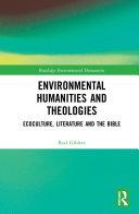 Environmental Humanities and Theologies Pdf/ePub eBook