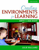 Cover of Creating Environments for Learning