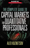 The Complete Guide To Capital Markets For Quantitative Professionals Book PDF