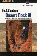 Rock Climbing Desert Rock III