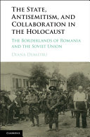 The State, Antisemitism, and Collaboration in the Holocaust