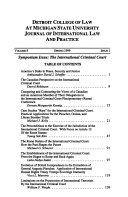 Journal of international law and practice