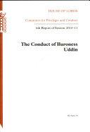 The conduct of Baroness Uddin