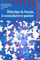 Didactique du français, le socioculturel en question