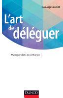 L'art de déléguer Pdf/ePub eBook