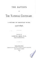 The Baptists And The National Centenary