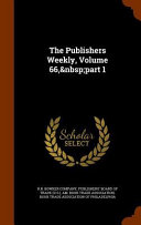The Publishers Weekly  Volume 66  Part 1 Book