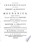 An Easy Introduction to the Theory and Practice of Mechanics