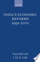 India's Economic Reforms, 1991-2001