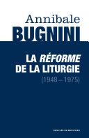 Pdf La réforme de la liturgie (1948-1975) Telecharger