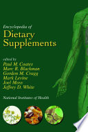 Encyclopedia of Dietary Supplements  Online