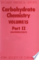 Carbohydrate Chemistry Book PDF
