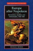 Europe After Napoleon