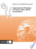 China in the Global Economy Agricultural Policies in China after WTO Accession