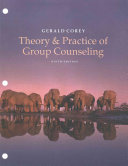Theory   Practice of Group Counseling Book