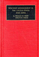 Volcano Management in the United States and Japan Book